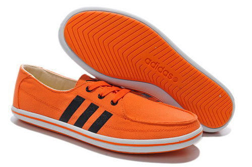 Mens Adidas Neo Lazy Orange Black Hong Kong